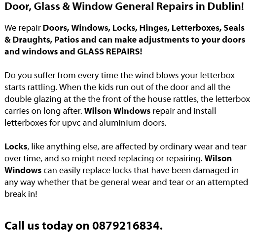 Repair of Worn Letterboxes and Locks and Letterbox Flaps in Dublin, Ballyfermot, Lucan, Tallaght, Dundrum, Blanchardstown, North Dublin, South Dublin, West Dublin