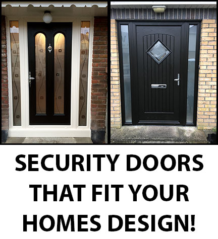 Home Security Doors Supplied and Fitted in Dublin by Wilson Windows